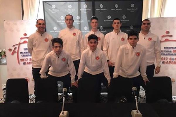7 състезатели на ТК Рамус  на европейското първенство за юноши
