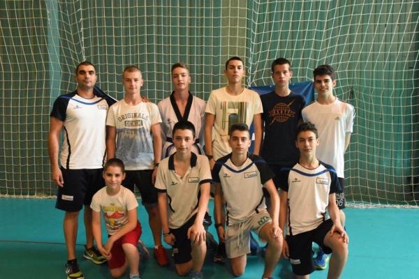 Национални състезатели на предстоящото Европейско първенство за кадети
