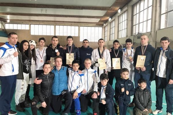 Тотална доминация на ТК Рамус на Държавното първенство за юноши до 21 г.