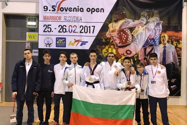 Златен и бронзов медал за Теодор Здравков и Божидар Аврамов от SLOVENIA OPEN G1